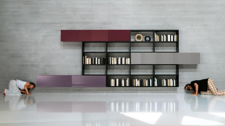 design_Libreria-soggiorno-lagolinea-nera
