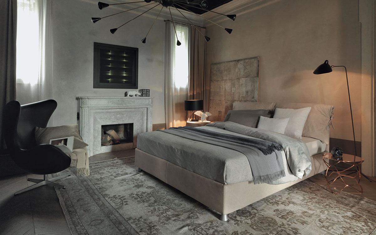 letto flou camere da letto comodini e com showroom ad