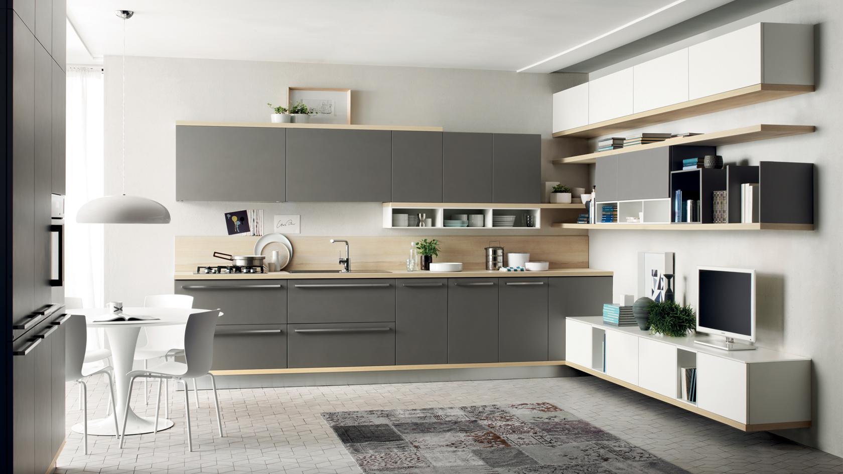 Colori mobili cucina moderna interesting colori mobili cucina moderna with colori mobili cucina - Colori per cucina moderna ...