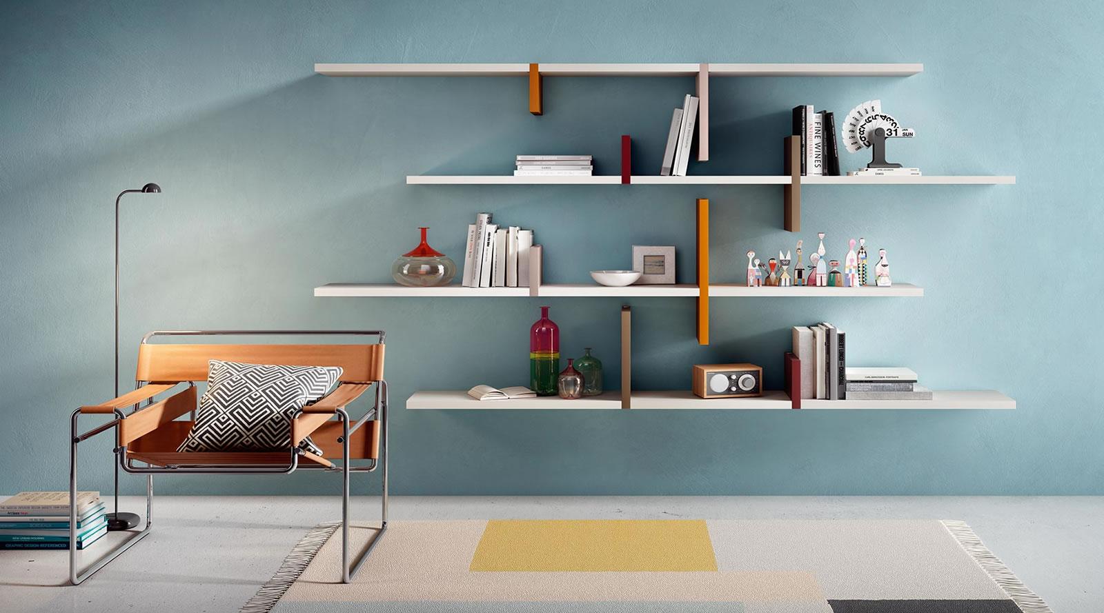 design_libreria-lago-linea-soggiorno - Piroddi Arredamenti dal 1893